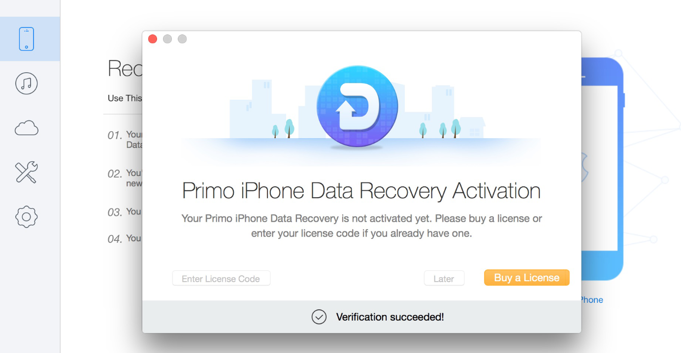 Primo iOS Data Recovery
